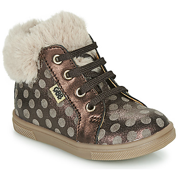 Shoes Girl Hi top trainers GBB JUNA VTS POIS TAUPE DPF/TRILLY