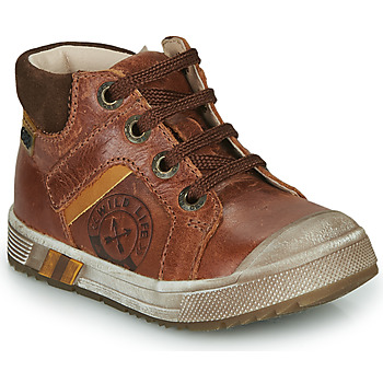 Shoes Boy Hi top trainers GBB OLANGO Brown