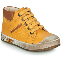 Shoes Boy Hi top trainers GBB OLANGO Yellow