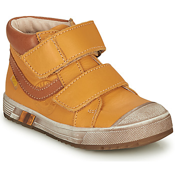 Shoes Boy Hi top trainers GBB OMALLO Yellow