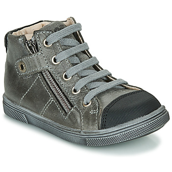 Shoes Boy Hi top trainers GBB KAMIL NUV GRIS DPF/TRILLY