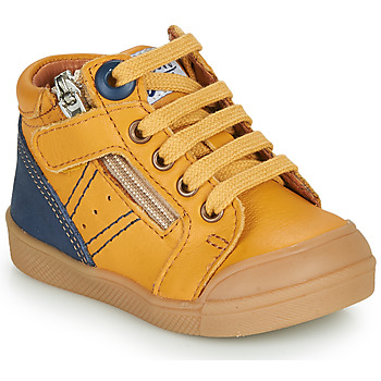 Shoes Boy Hi top trainers GBB ANATOLE Orange