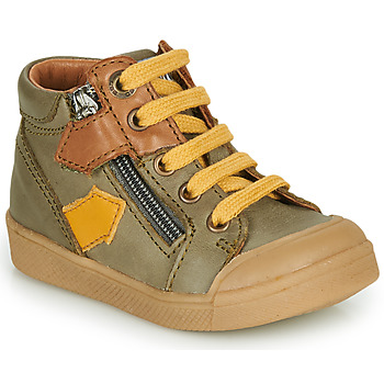 Shoes Boy Hi top trainers GBB IONNIS Green