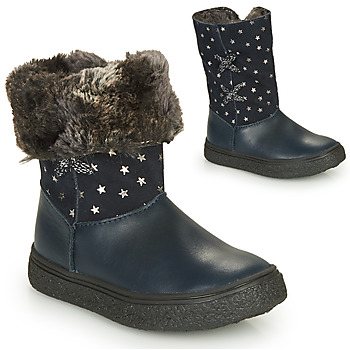 Shoes Girl High boots GBB OLINETTE Marine