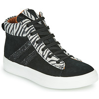 Shoes Girl Hi top trainers GBB KIBEL CRT NOIR-ZEBRE DPF/BITTER