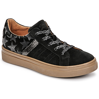 Shoes Girl Low top trainers GBB DANINA CTV NOIR-ARGENT DPF/BITTER
