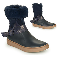Shoes Girl High boots GBB EVELINA Marine