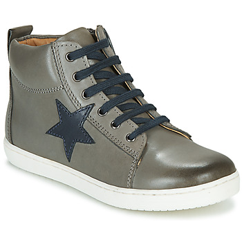 Shoes Boy Hi top trainers GBB KANY VTE GRIS DPF/GARCON
