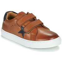 Shoes Boy Low top trainers GBB DANAY VTE MARRON DPF/GARCON