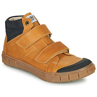 Shoes Boy Hi top trainers GBB HENI Cognac