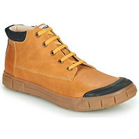 Shoes Boy Hi top trainers GBB SHEN Cognac