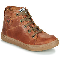 Shoes Boy Hi top trainers GBB KELIG Brown
