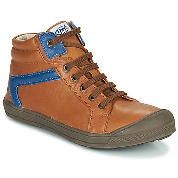 Shoes Boy Hi top trainers GBB IWEN Brown