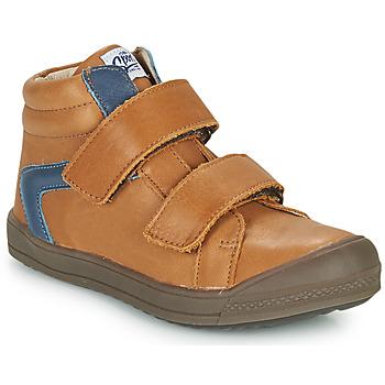 Shoes Boy Hi top trainers GBB KOLAN Brown