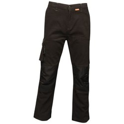 Clothing Men 5-pocket trousers Professional Scandal Stretch Work Trousers Black Black