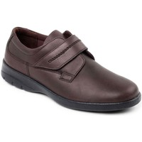 Shoes Men Derby Shoes Padders Air Mens Riptape Shoes brown