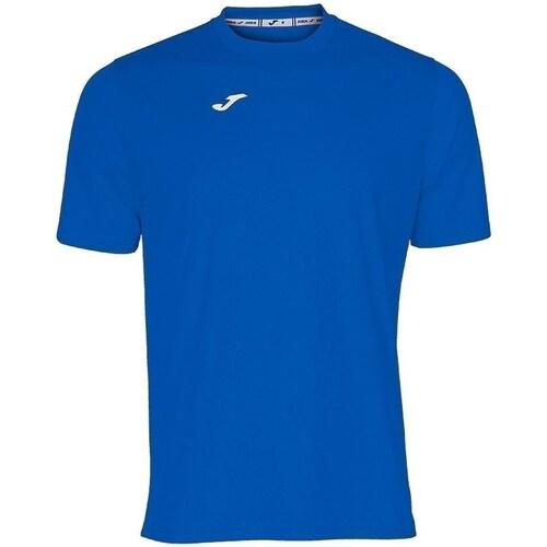Clothing Men short-sleeved t-shirts Joma Combi Blue