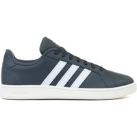 Shoes Men Low top trainers adidas Originals Grand Court Base White, Graphite