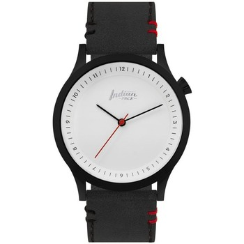 Watches & Jewellery  Analogue watches The Indian Face Scope Black and White Black
