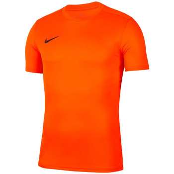 Clothing Men short-sleeved t-shirts Nike Park Vii Orange