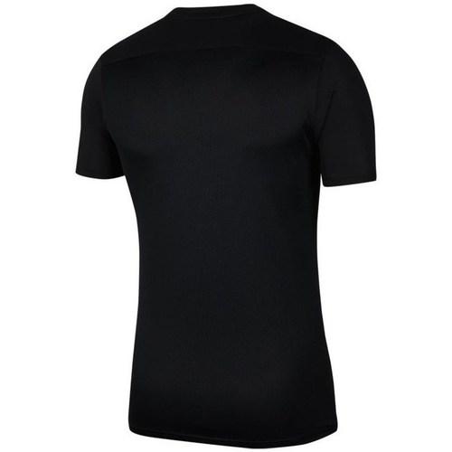 Clothing Men short-sleeved t-shirts Nike Park Vii Black