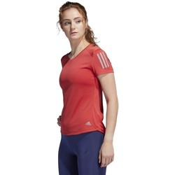 Clothing Women Short-sleeved t-shirts adidas Originals Own The Run Tee Red
