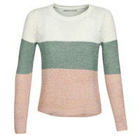 Clothing Women jumpers Only ONLGEENA Beige / Pink