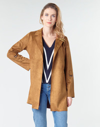 Clothing Women Coats Only ONLJOLINE Brown