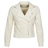 Clothing Women Leather jackets / Imitation leather Only ONLBIANCA Beige