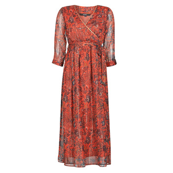 Clothing Women Long Dresses Vero Moda VMGLAMMY Red