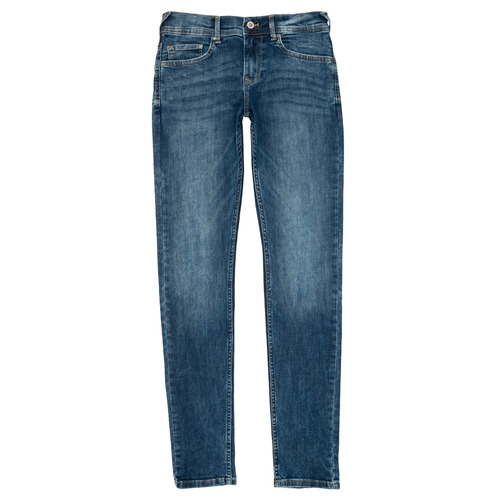 Clothing Boy slim jeans Pepe jeans FINLY Blue
