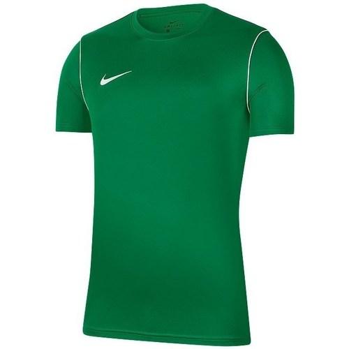 Clothing Men short-sleeved t-shirts Nike Park 20 Green