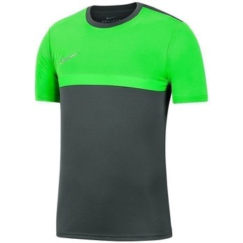 Clothing Men short-sleeved t-shirts Nike Academy Pro Top Graphite,Green