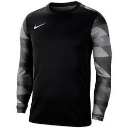 Clothing Men Long sleeved tee-shirts Nike Dry Park IV Black