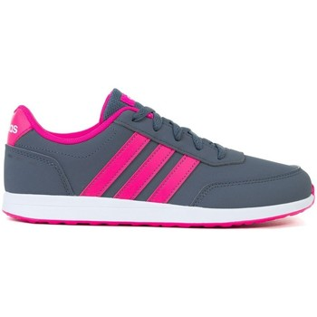 Shoes Girl Low top trainers adidas Originals VS Switch 2K Grey,Pink