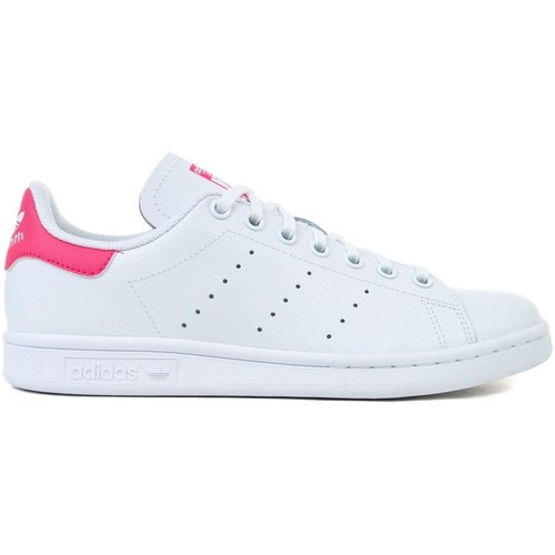 Shoes Girl Low top trainers adidas Originals Stan Smith J
