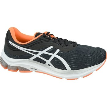 Shoes Men Running shoes Asics Gelpulse 11 White, Black, Orange