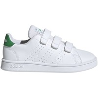 Shoes Children Low top trainers adidas Originals Advantage C White