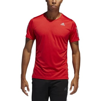 Clothing Men short-sleeved t-shirts adidas Originals Own The Run Tee Red