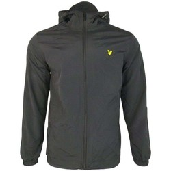 Clothing Men Macs Lyle And Scott Vintage Zip Through Hooded Jacket black