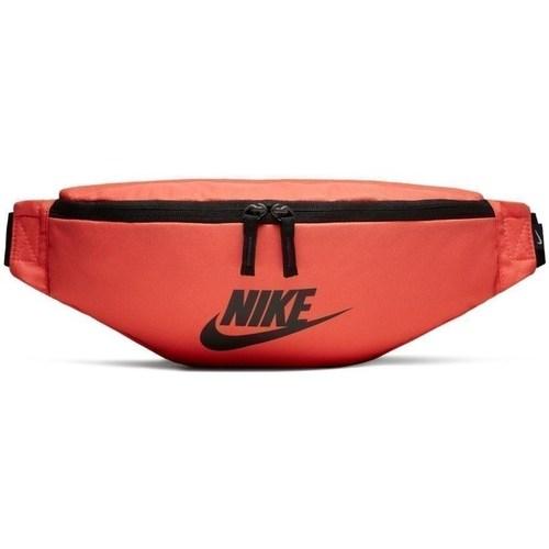 Bags Women Bumbags Nike Heritage Orange