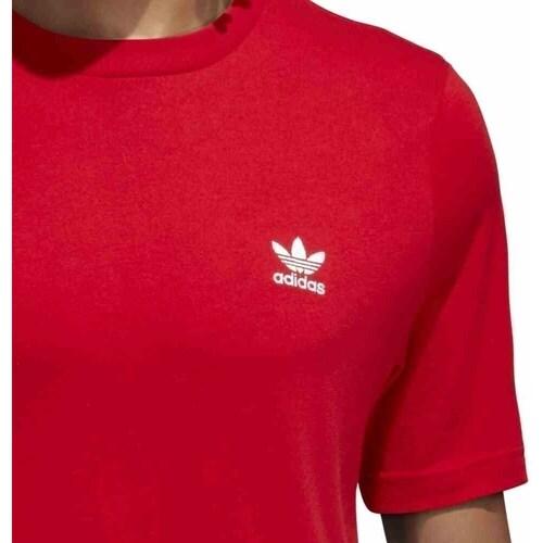 .co.uk  Originals Essentials  adidas Originals  short-sleeved t-shirts  men  red