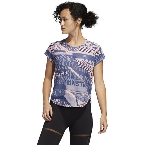 Clothing Women short-sleeved t-shirts adidas Originals Own The Run Tee