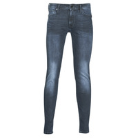 Clothing Men Slim jeans Jack & Jones JJILIAM Blue / Dark
