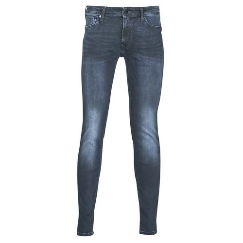 Clothing Men Slim jeans Jack & Jones JJILIAM Blue / Dark