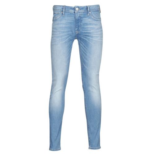 Clothing Men slim jeans Jack & Jones JJILIAM Blue / Clear
