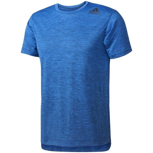 Clothing Men short-sleeved t-shirts adidas Originals Freelift Gradient Tee Blue
