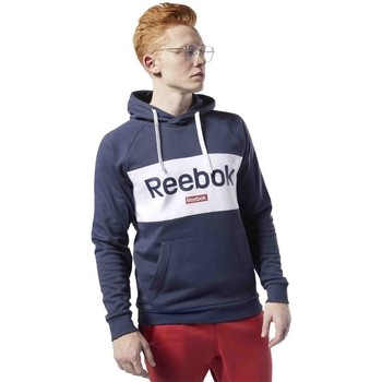 Clothing Men Sweaters Reebok Sport Essentials Logo Linear Graphite