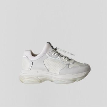 Shoes Women Low top trainers Bronx Chaussures femme  Baisley Suede blanc cassé