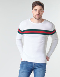 Clothing Men jumpers Casual Attitude MIRANDA White